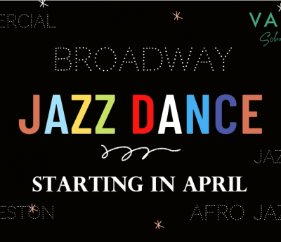 NEW JAZZ CLASS Starting in April